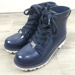 Circus by Sam Edelman Kascade Boots Blue Size 7